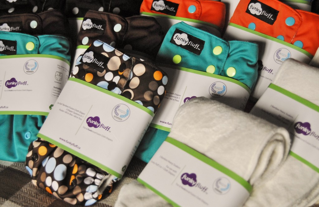 funky fluff cloth diaper bundle