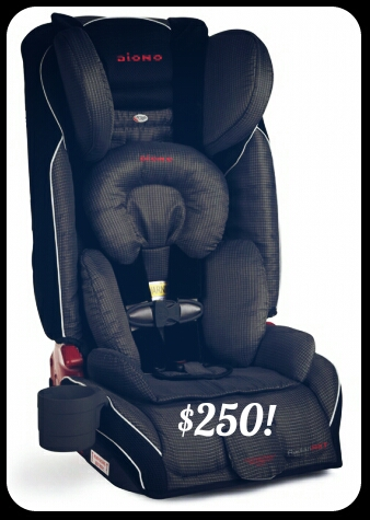 Ebates, Shop.ca and how I saved over $100 on the Diono Radian RXT carseat