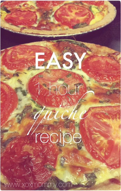 Easy 1 Hour Quiche Recipe
