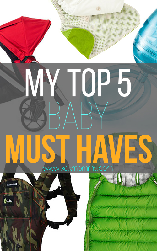 top 5 baby must haves