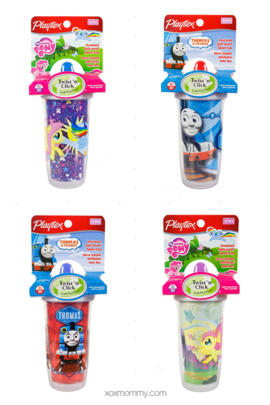 my little pony thomas tank playtex playtime cups