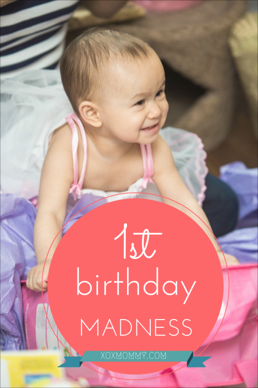 It's My First Birthday Party and I'll Cry If I Want To