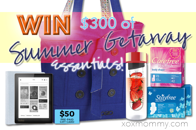 Win a $300 Stayfree Summer Getaway Essentials Package!