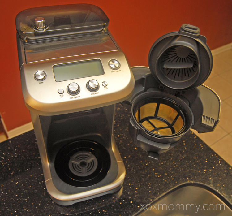 Breville Coffee Maker Gold Filter : Breville Grind Control Review xox Mommy