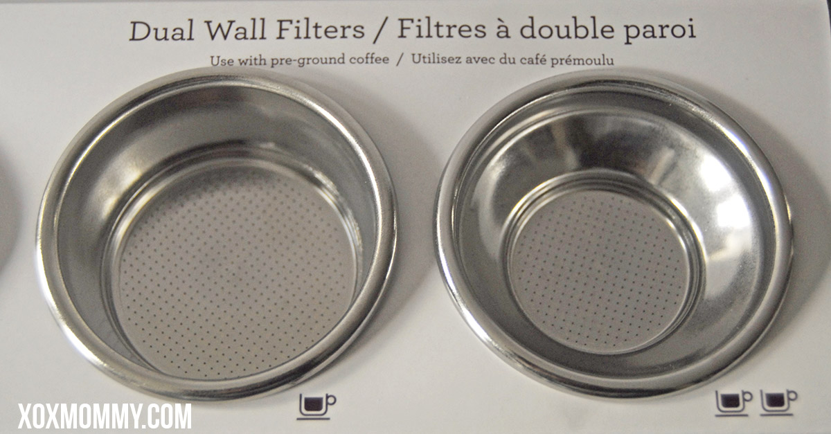 breville barista express dual wall filters