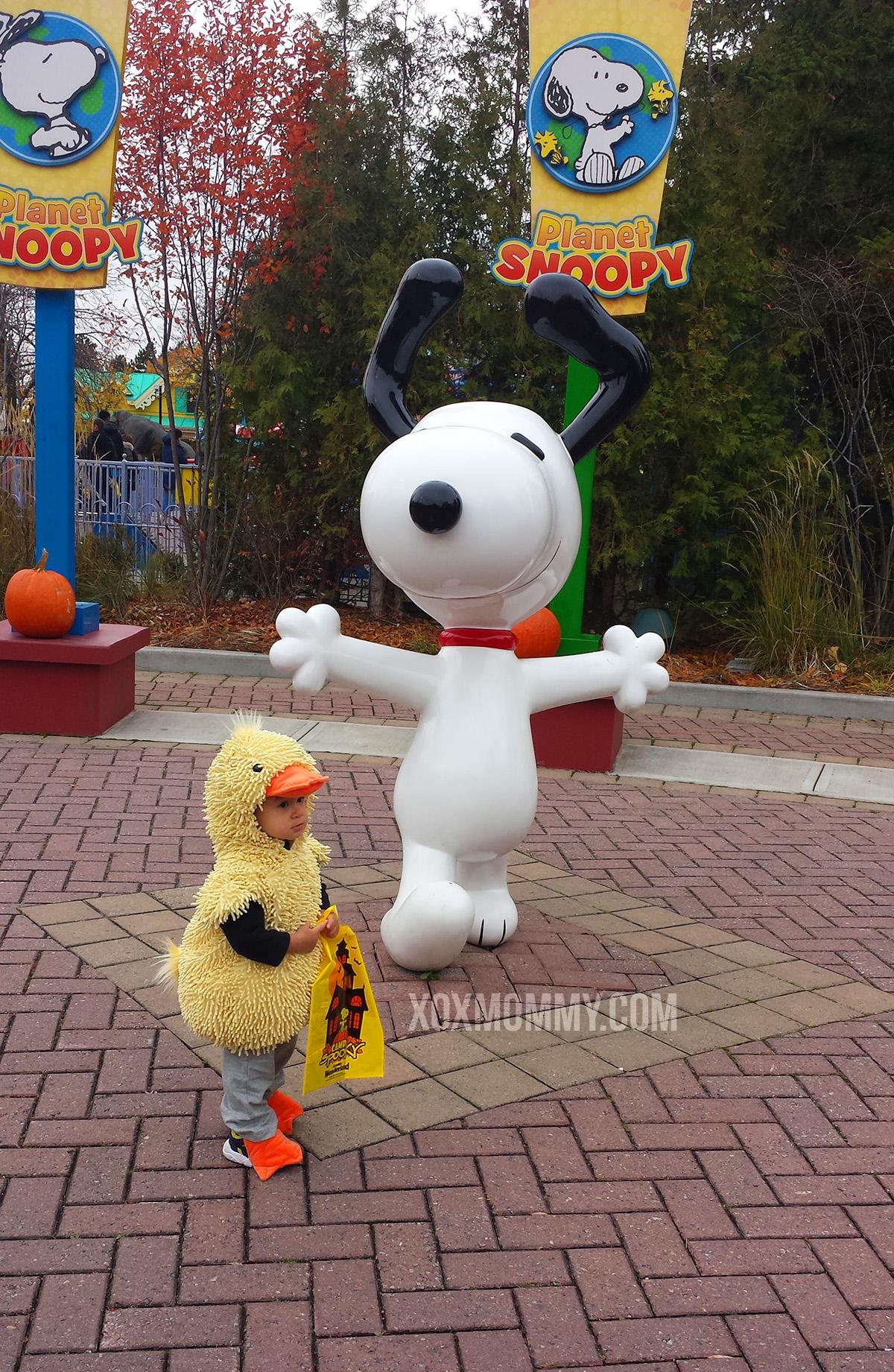 halloween duck toddler snoopy