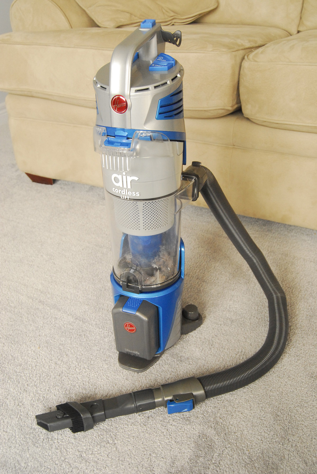 hoover air cordless lift canister