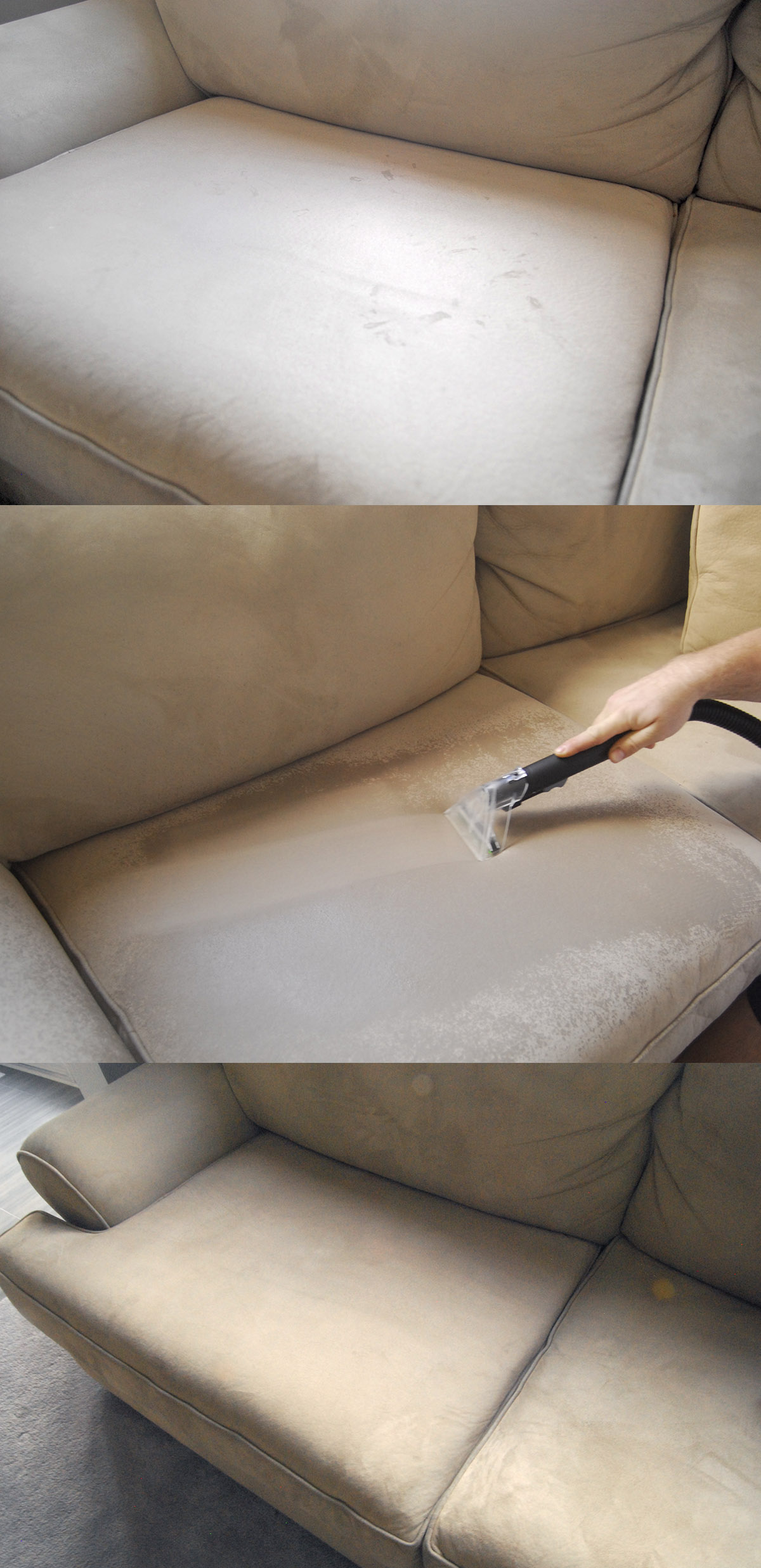 hoover powerscrub deluxe couch clean