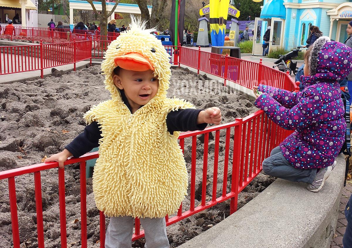 toddler duck costume halloween wonderland