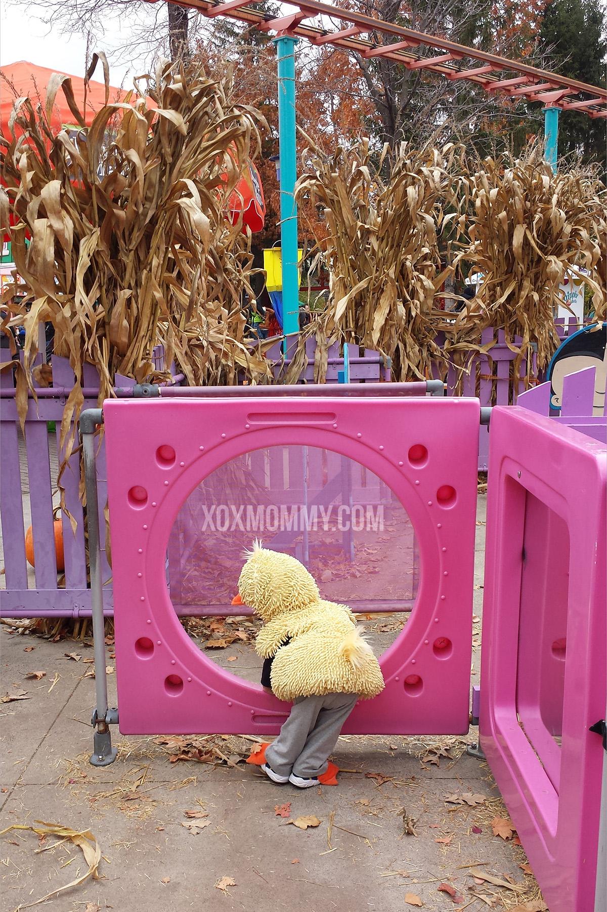 toddler duck costume tube canadas wonderland maze