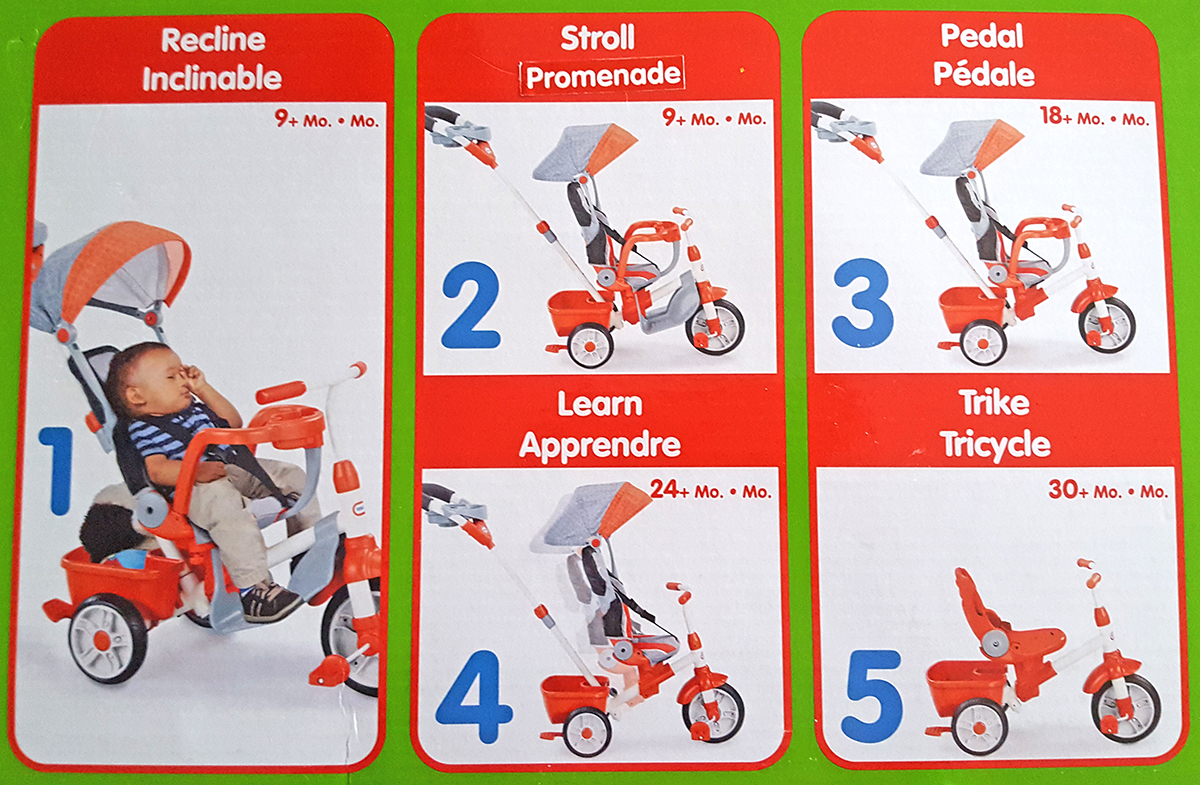 Little Tikes Ride Relax 5 in 1