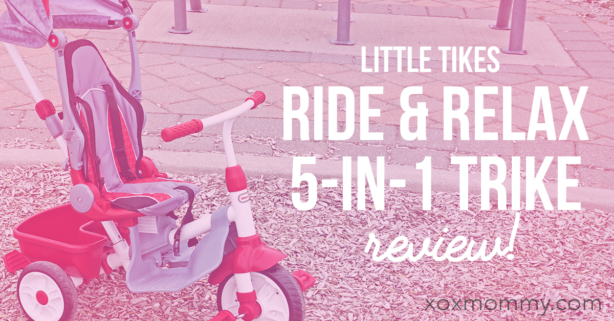Little Tikes Ride & Relax 5-in-1 Trike Review!