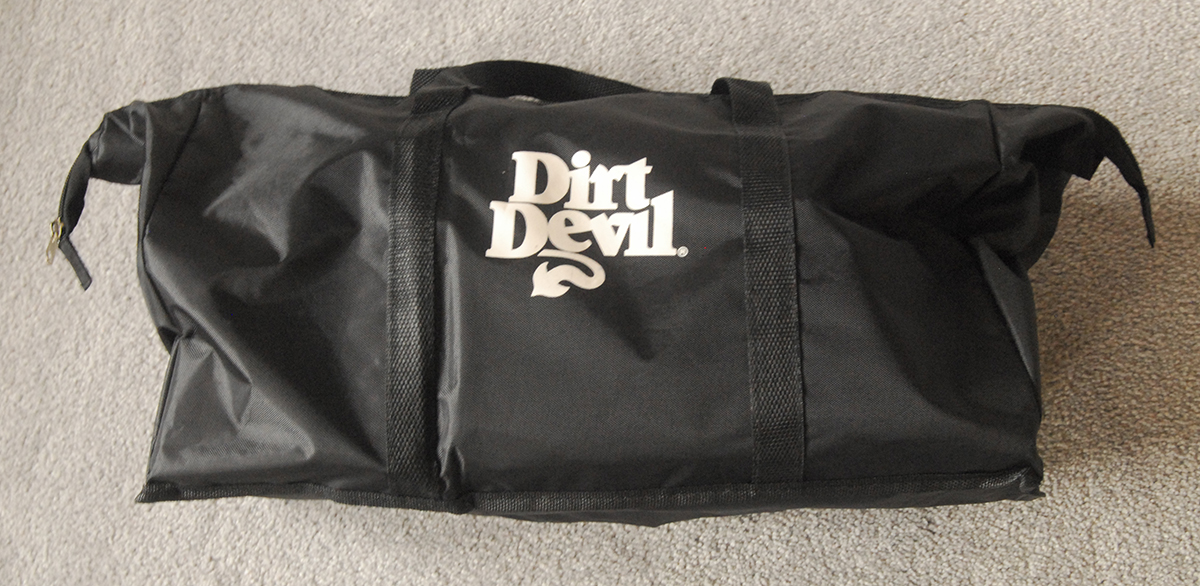 dirt devil 360 duffel bag