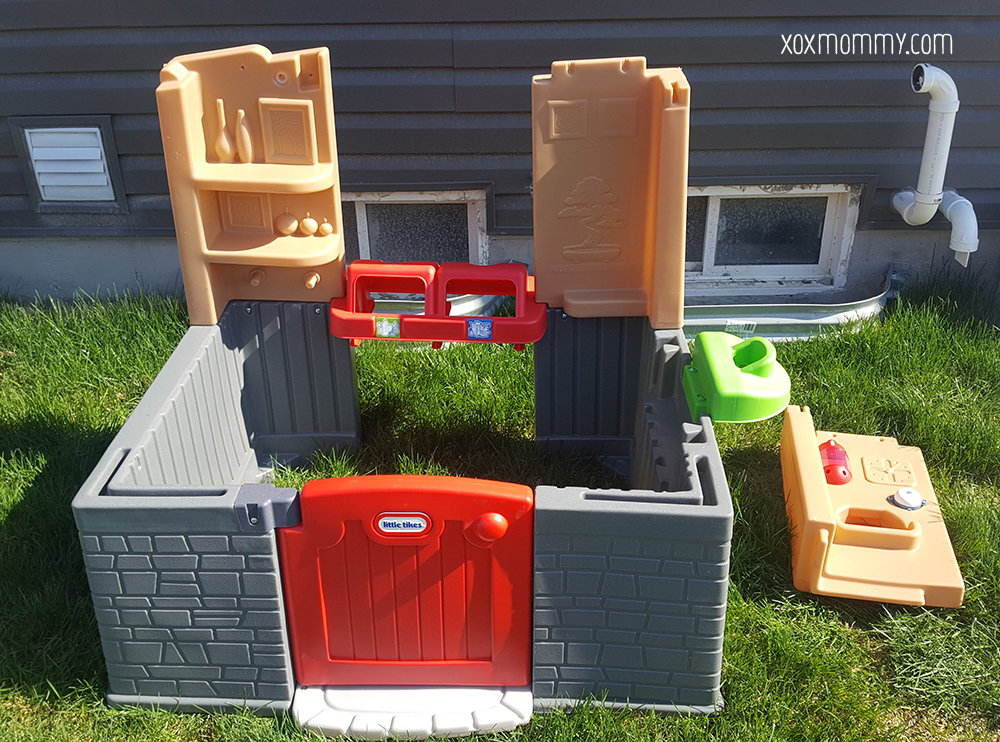 little tikes go green playhouse build