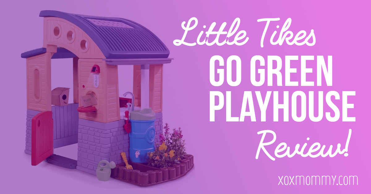 Little Tikes Go Green Playhouse Review!