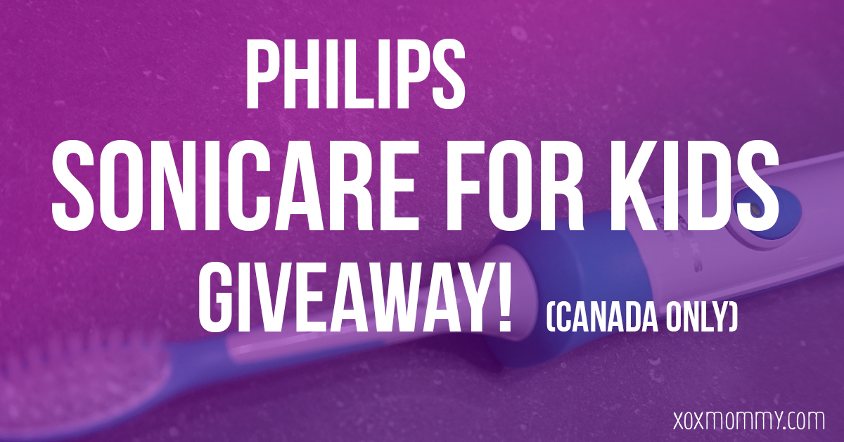 Philips Sonicare for Kids {Giveaway!}