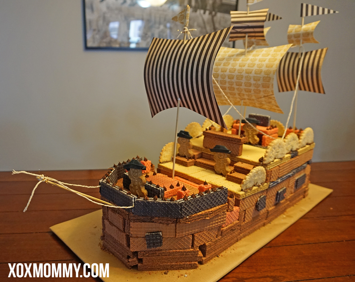 voortman wafer pirate ship 2