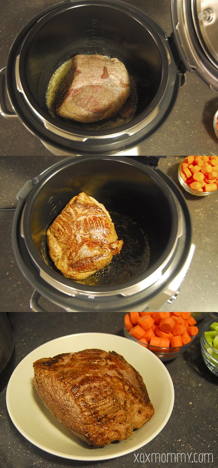 breville fast slow pro sear beef