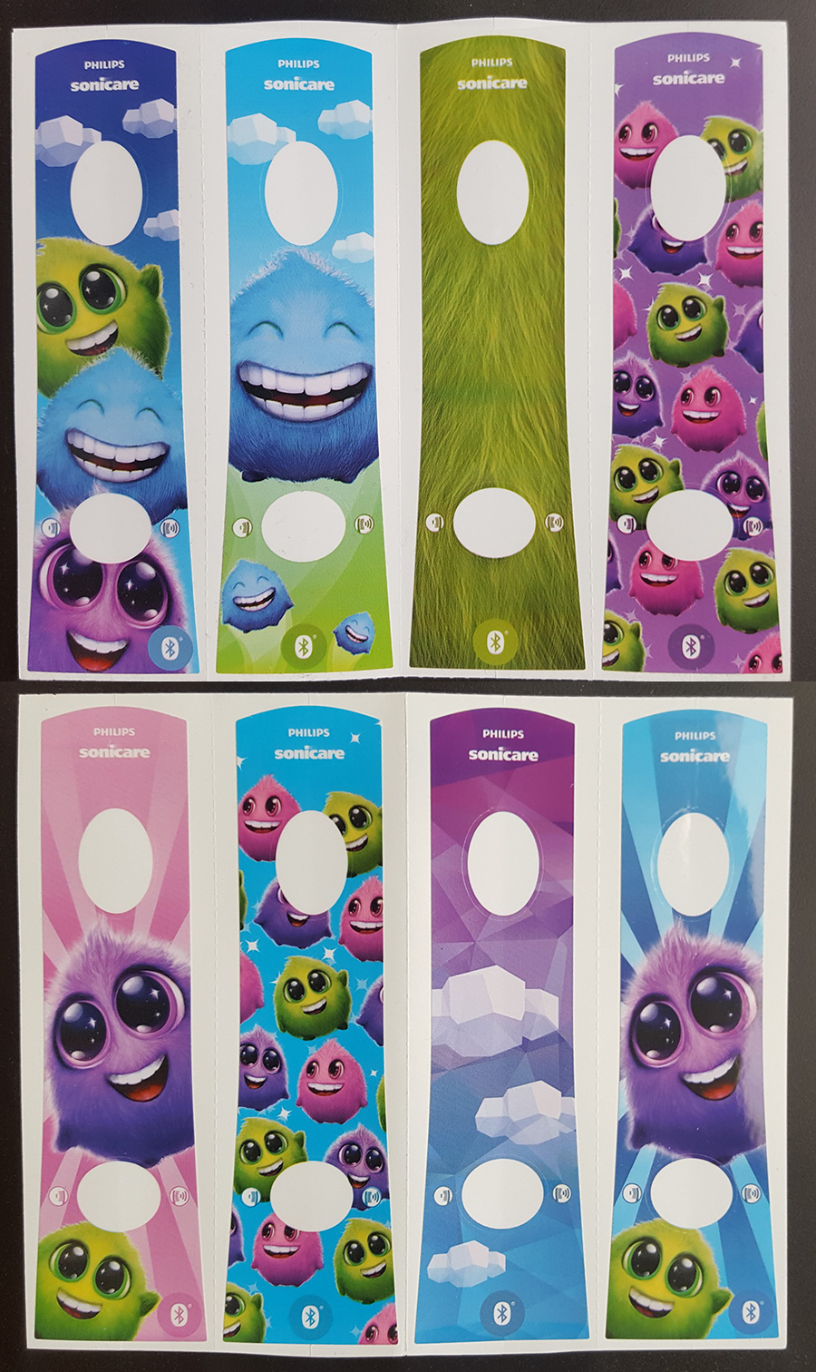 philips sonicare for kids stickers
