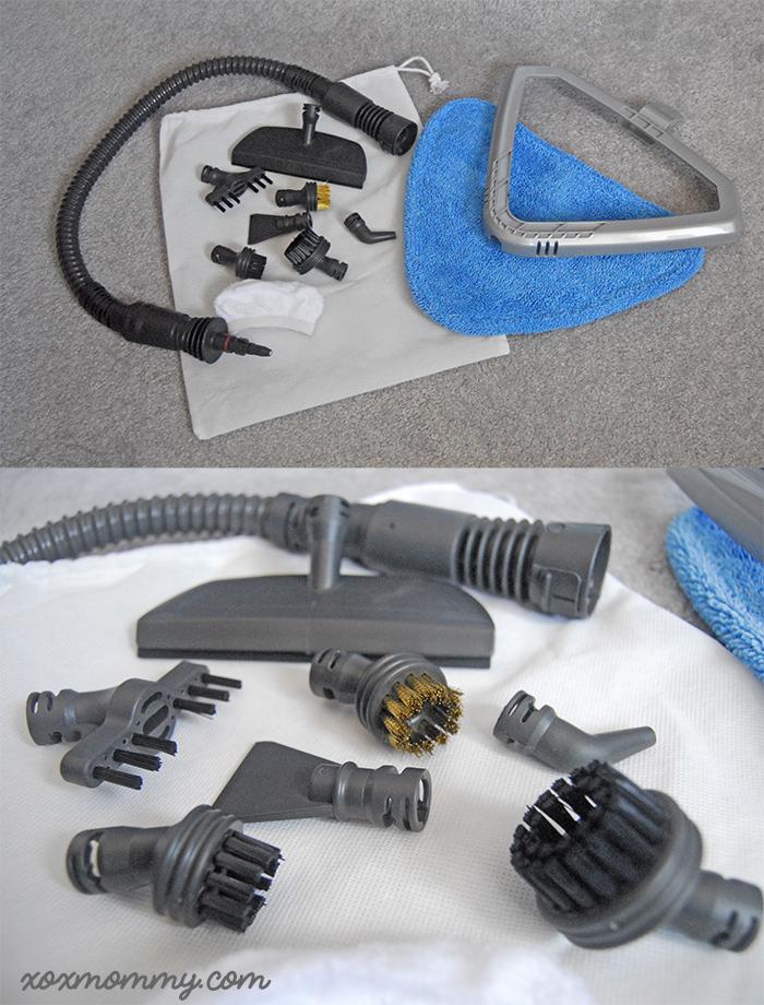 hoover steamscrub 2-in-1 accessories